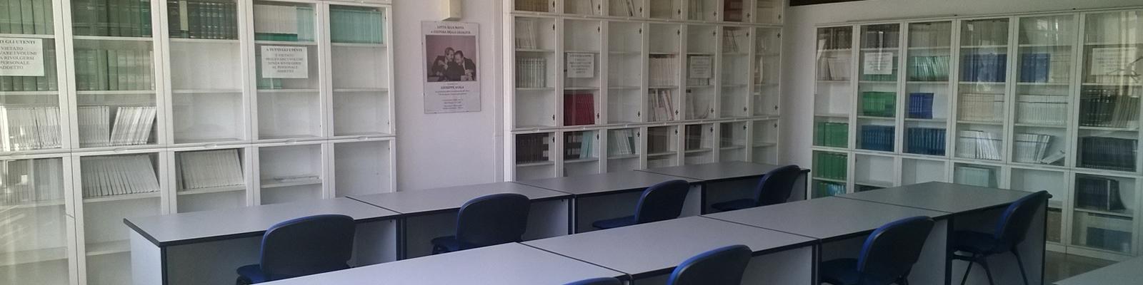 Biblioteca del Dipartimento di Scienze Giuridiche e Sociali - SGS