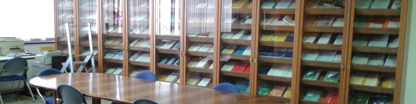 Biblioteca del Dip. di Scienze Filosofiche, Pedagogiche ed Economico-Quantitative
