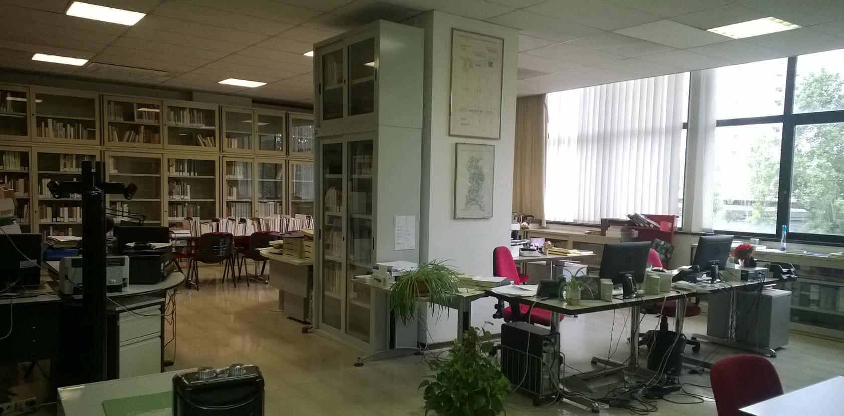 Biblioteche del Dip. di Architettura - Sez. PAr-Patrimonio Architettonico