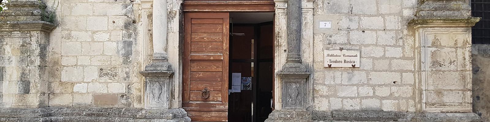 Biblioteca Comunale 'Teodoro Rosica' di Guardiagrele